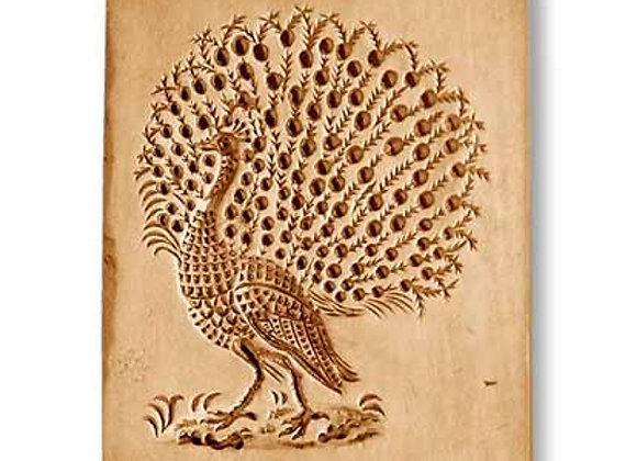 AP 3501 Peacock, large springerle cookie mold by Anis-Paradies