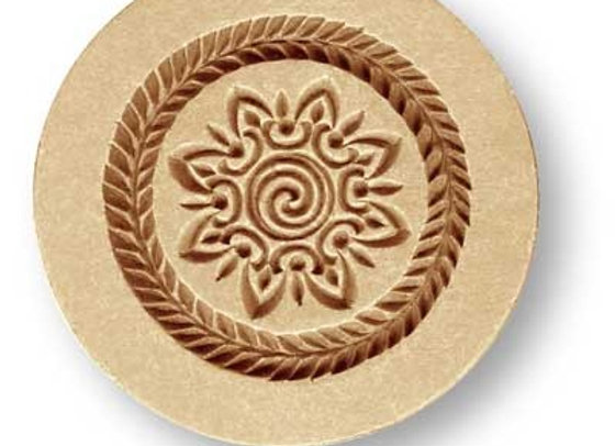 Swirl Ornament springerle cookie mold by Anis-Paradies 1676