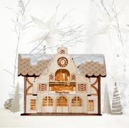 Brauhaus ginger cottage wooden ornament