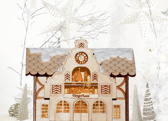 Brauhaus Wooden Ornament by Gingerhaus -GingerCottages TRC