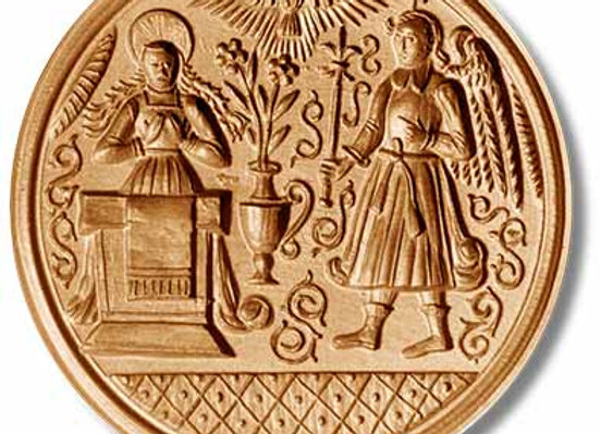 Annunciation circa 1530 springerle cookie mold by Anis-Paradies 1045