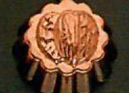 BG105-2 Petite Swiss Nuts Walnut Copper Choclolate Baking Mold - Birth-Gramm