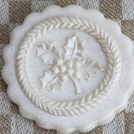 holly springerle cookie mold anise parad
