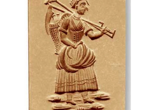 Farmer's Wife springerle cookie mold by Anis-Paradies 7955