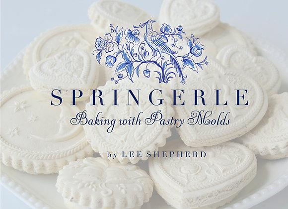 Pre-Order Springerle - Baking with Pastry Molds by Lee Shepherd BKGH0001