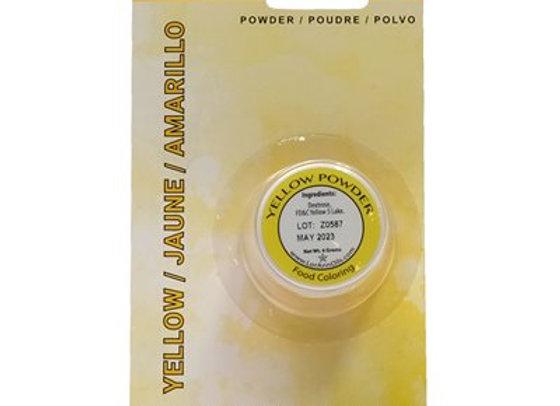 Yellow Powder Food Color 1/2 oz.  by LorAnn Oils 1370-0400