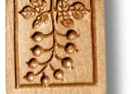 Currents springerle cookie mold by Anis-Paradies 2285