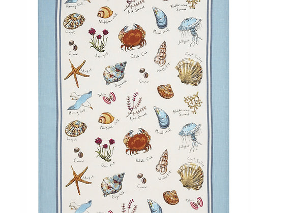 022MSE Seashore Cotton Tea Towel By Ulster Weavers 022MSE