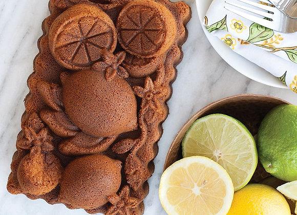 Nordic Ware Citrus Blossom Bundt Cake Pan