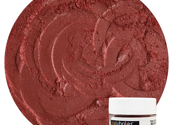 43-11545 Edible Luster Dust - Red Rose - by CK Products