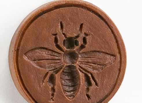 M7252 Bee Happy Springerle Cookie Mold by House on the Hill