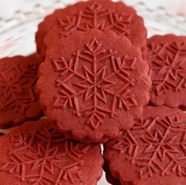 red velvet springerle cookie recipe with