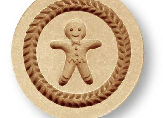 Gingerbread Man springerle cookie mold by Anis-Paradies 1222