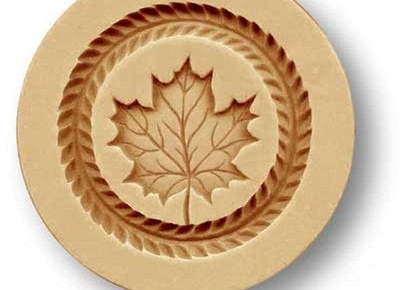 Maple Leaf springerle cookie mold by Anis-Paradies 02740