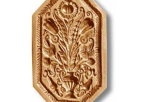 AP  2208 Bouquet of Flowers circa 1750 springerle cookie mold by Anis-Paradise