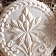 Lotus springerle cookie mold by Anise Paradise SKU: 2209