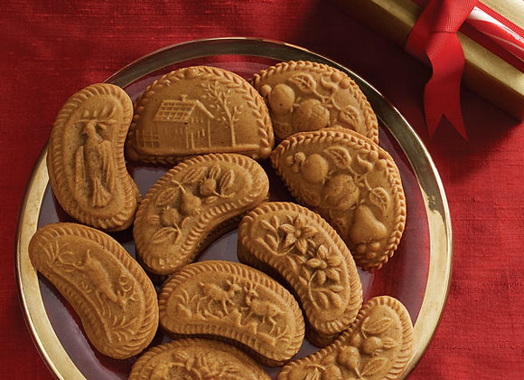 Swiss Sextet Springerle Cookie Mold by House on the Hill M4060