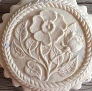 wild rose springerle cookie mold anise p