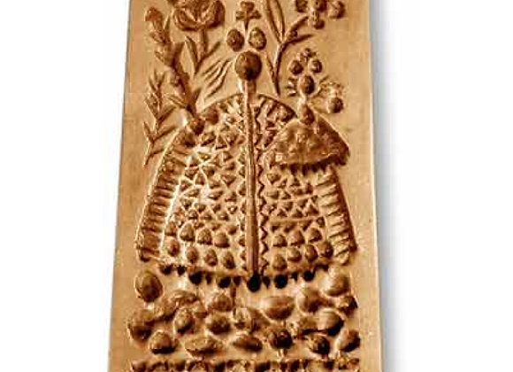 Mary stylized springerle cookie mold by Anis-Paradies 1192