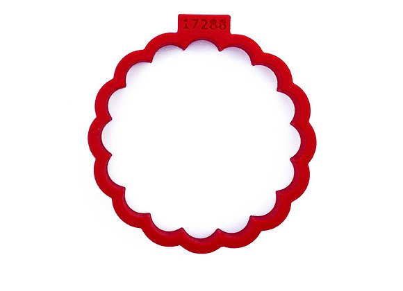 AP C - 17288 Fluted Round cookie cutter by Gingerhaus