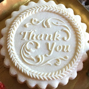 6623 thank you springerle cookie mold an