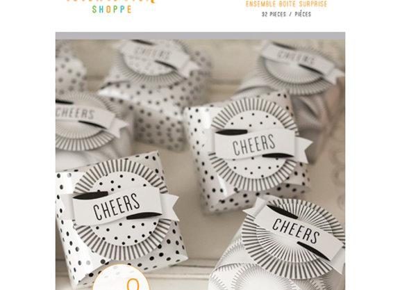 Pop Fizz Clink Party Favor Box Kit