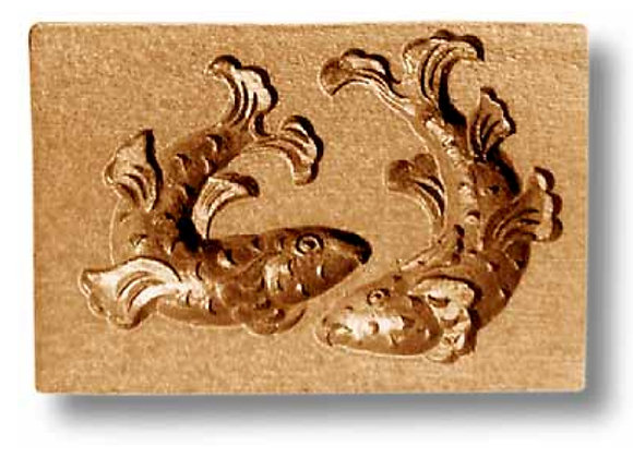 AP 3195 Two Fish springerle cookie mold by Anis-Para