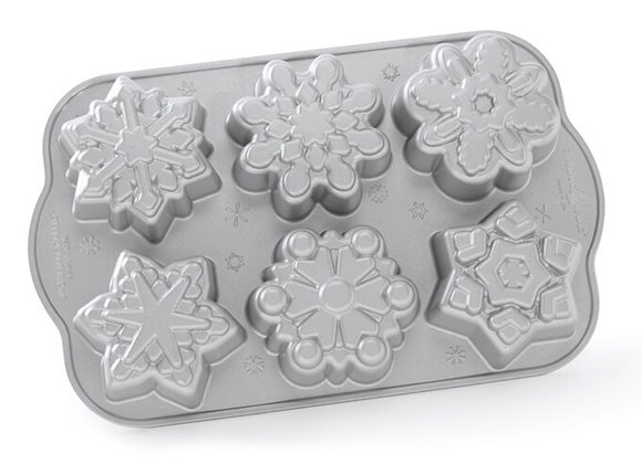 NW 89648 Nordic Ware® Frozen Snowflake Cakelet Pan