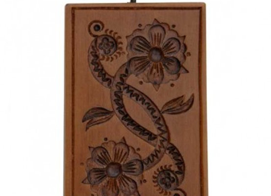 Floral Scroll Springerle Cookie Mold  by House on the Hill