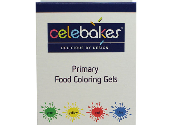 Celebakes Primary Food Coloring Gels 7500-69603