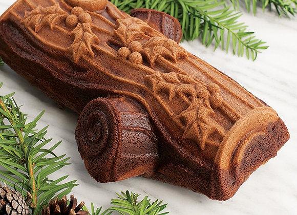NW86448 Nordic Ware® Buche De Noel Yule Log Cake Baking Pan