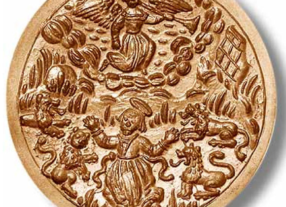 1341 Daniel in the Lion ́s Den ca 1570 springerle cookie mold by Anis-Paradies