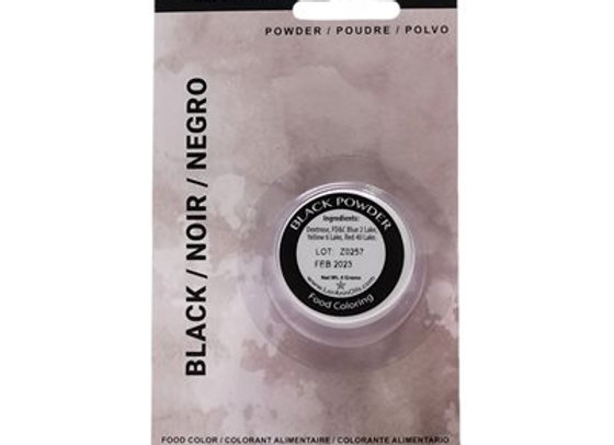 Black Powder Food Color 1/2 oz.  by LorAnn Oils 1300-0400