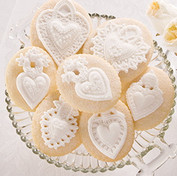 hearts springerle cookie mold four heart