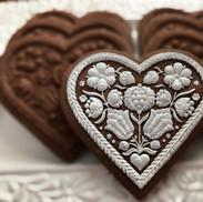 FEB Valentine Chocolate White Heart 5112