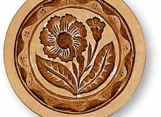 AP 2375 Carnation springerle cookie mold by Anise Paradise