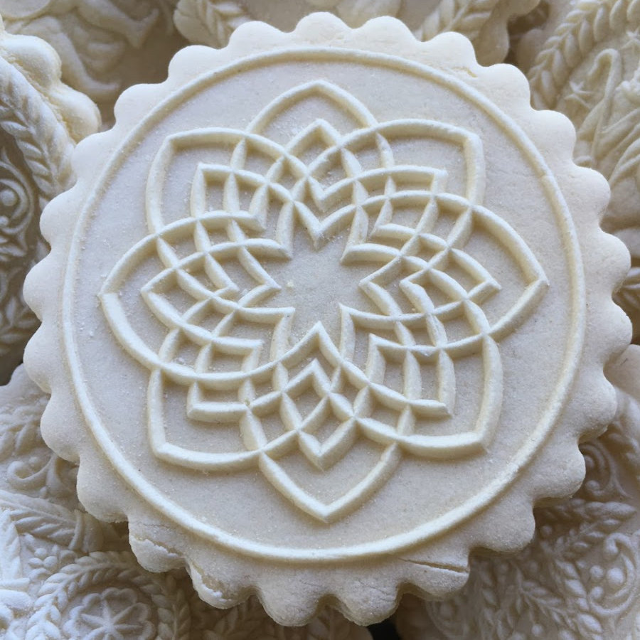 Indian Kolam Figure springerle cookie mold by anis-paradies 6211 NEW