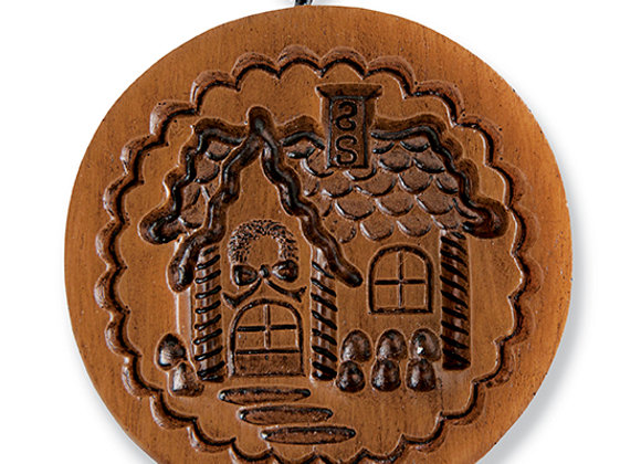 Gingerbread Cottage Springerle Cookie Mold by House on the Hill M11530