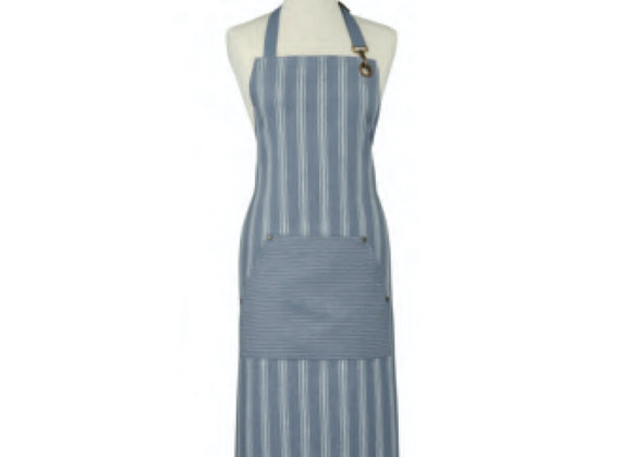 7GRY01L 1880 Heritage Series - Grey Linen Apron by Ulster Weavers