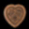 rose heart springerle cookie mold house