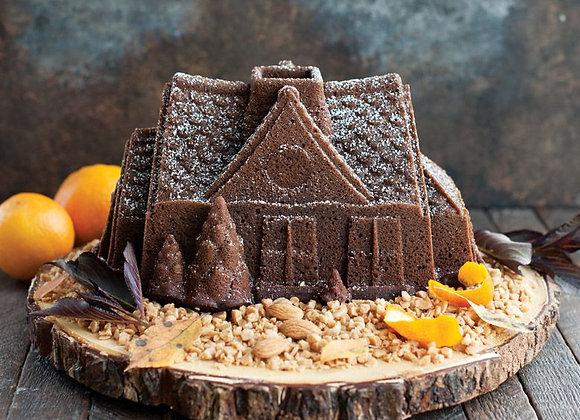 Gingerbread House Bundt Cake Pan by Nordic Ware 83948