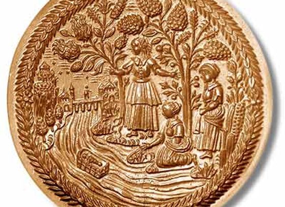 Moses in the Nile springerle cookie mold by Anis-Paradies 1070