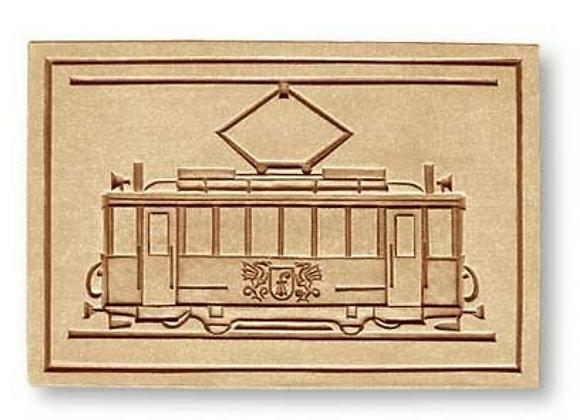Basel Tram 1927 Trolley springerle cookie mold by Anis-Paradies 4097