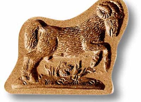 Aries Ram Navy Goat springerle cookie mold by Anis-Paradies 3519