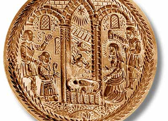 AP 1122 Adoration of the Shepherds springerle cookie mold by Anis-Paradies