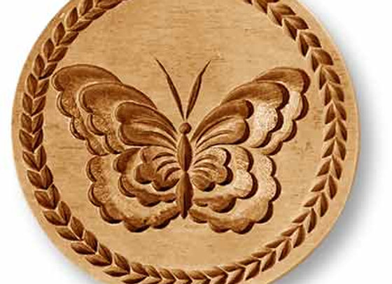 Butterfly springerle cookie mold by Anis Paradies 3206