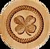 springerle cookie molds shamrock clover