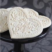 lotus heart springerle cookie mold hero