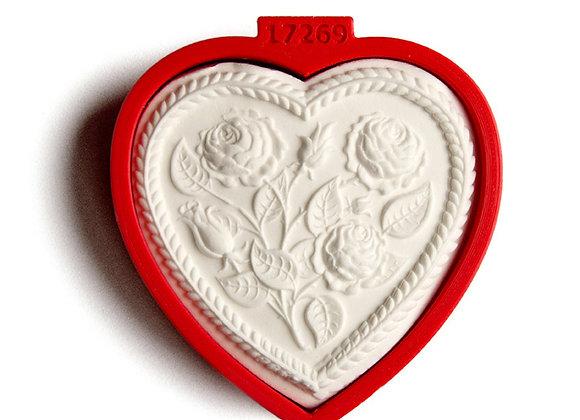 C - 5100 Plain Heart cookie cutter by Gingerhaus 17269