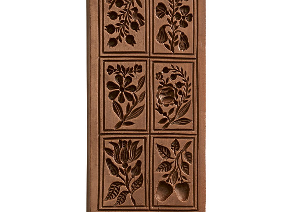 Cassie's Garden Springerle Cookie Mold  by House on the Hill M7615
